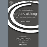 Robert Bowker Legacy Of Song Sheet Music and PDF music score - SKU 71281
