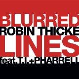 Robin Thicke Blurred Lines Sheet Music and PDF music score - SKU 150843