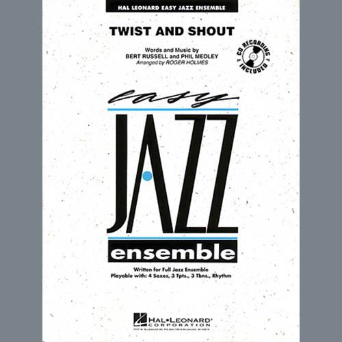 Roger Holmes, Twist And Shout - Alto Sax 2, Jazz Ensemble