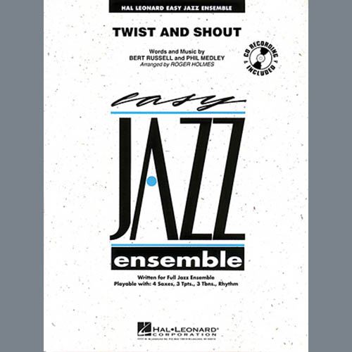 Roger Holmes, Twist And Shout - Full Score, Jazz Ensemble