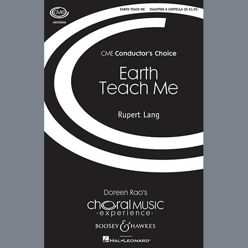 Rupert Lang Earth Teach Me profile image