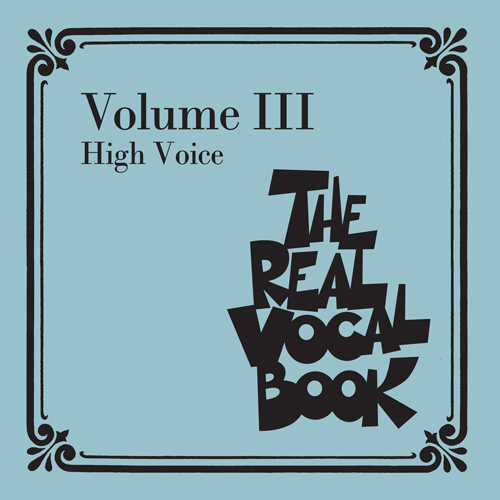 Sammy Cahn, All My Tomorrows (High Voice), Real Book – Melody, Lyrics & Chords