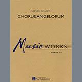 Samuel R. Hazo Chorus Angelorum - Eb Alto Saxophone 2 Sheet Music and PDF music score - SKU 278574