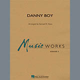 Samuel R. Hazo Danny Boy - Eb Alto Saxophone 2 Sheet Music and PDF music score - SKU 307174