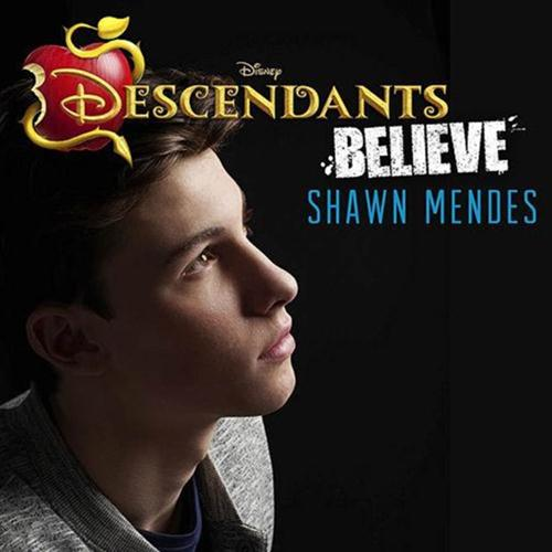 Shawn Mendes, Believe (from Disney's Descendants), Piano, Vocal & Guitar (Right-Hand Melody)
