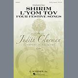 Shulamit Ran Four Festive Songs Sheet Music and PDF music score - SKU 85985