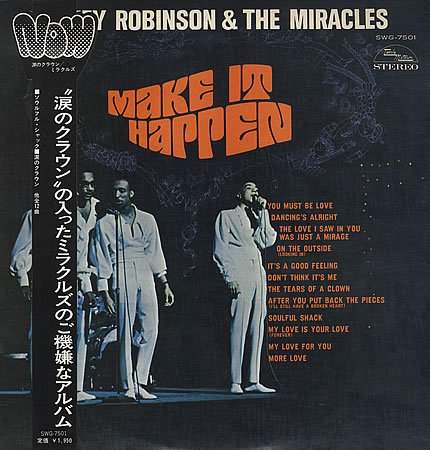 Smokey Robinson & The Miracles, The Tears Of A Clown, Piano, Vocal & Guitar (Right-Hand Melody)