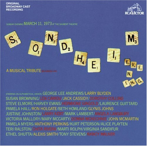 Stephen Sondheim, Losing My Mind (from 'Follies'), Alto Saxophone