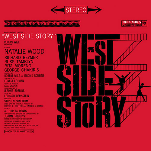 Stephen Sondheim & Leonard Bernstein, Something's Coming (from West Side Story) (arr. Carol Klose), Easy Piano