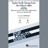 Taylor Swift Taylor Swift: Songs from the Album 1989 (Medley) (arr. Mark Brymer) Sheet Music and PDF music score - SKU 158285