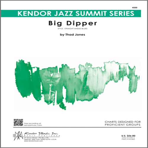 Thad Jones, Big Dipper - 3rd Bb Trumpet, Jazz Ensemble