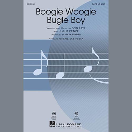 Boogie Woogie Bugle Boy (arr. Mark Brymer) sheet music