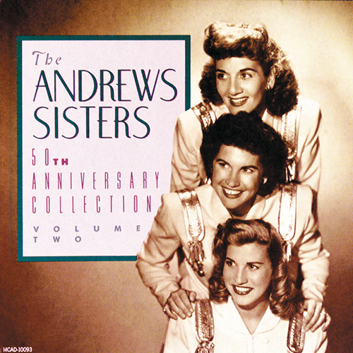 The Andrews Sisters, I Can Dream, Can't I? (from Right This Way), Piano, Vocal & Guitar (Right-Hand Melody)