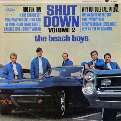 The Beach Boys, Don't Worry Baby, Guitar with strumming patterns