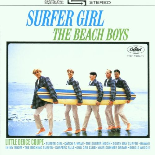 The Beach Boys, Little Deuce Coupe, Piano, Vocal & Guitar (Right-Hand Melody)