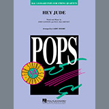 The Beatles Hey Jude (arr. Larry Moore) - Violin 1 Sheet Music and PDF music score - SKU 425560