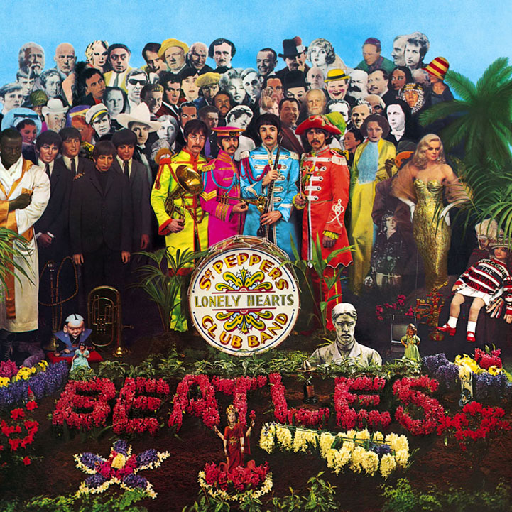 The Beatles, Sgt. Pepper's Lonely Hearts Club Band, Piano, Vocal & Guitar