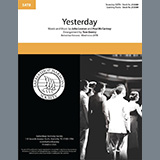 The Beatles Yesterday (arr. Tom Gentry) Sheet Music and PDF music score - SKU 435392