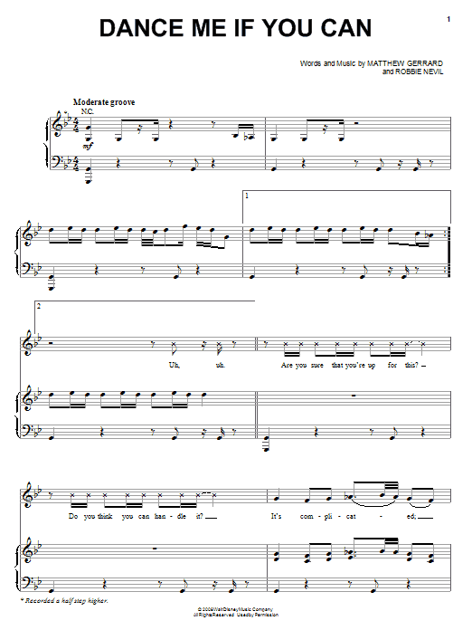 Download The Cheetah Girls Dance Me If You Can sheet music and printable PDF score & Pop music notes