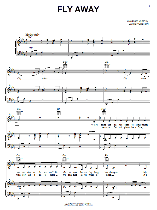 Download The Cheetah Girls Fly Away sheet music and printable PDF score & Pop music notes