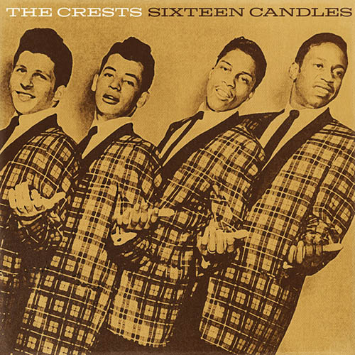 The Crests, Sixteen Candles, Piano, Vocal & Guitar (Right-Hand Melody)