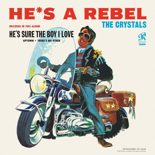 The Crystals, He's A Rebel, Piano, Vocal & Guitar (Right-Hand Melody)
