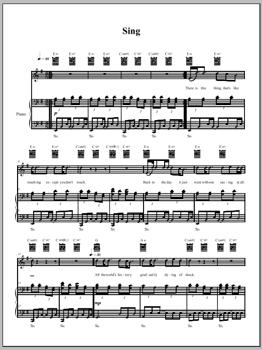 Download The Dresden Dolls Sing sheet music and printable PDF score & Pop music notes