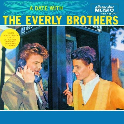 The Everly Brothers, Cathy's Clown, Piano, Vocal & Guitar (Right-Hand Melody)