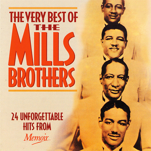 The Mills Brothers, I'll Be Around, Piano, Vocal & Guitar (Right-Hand Melody)
