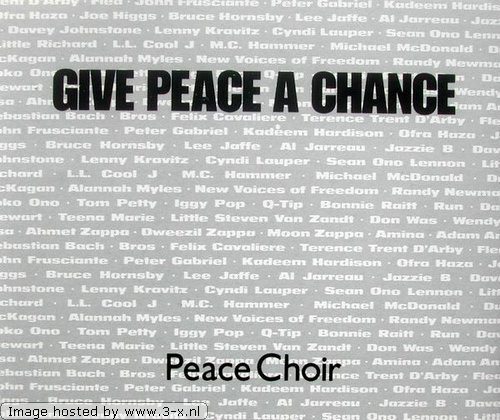 The Peace Choir Give Peace A Chance profile image