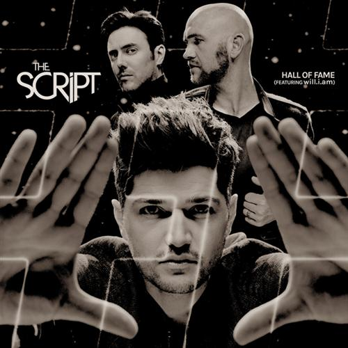 The Script, Hall Of Fame, Piano, Vocal & Guitar (Right-Hand Melody)