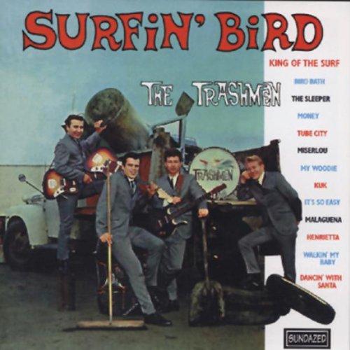 The Trashmen, Surfin' Bird, Piano, Vocal & Guitar (Right-Hand Melody)
