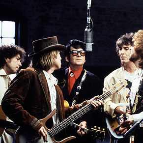 The Traveling Wilburys, Last Night, Piano, Vocal & Guitar (Right-Hand Melody)
