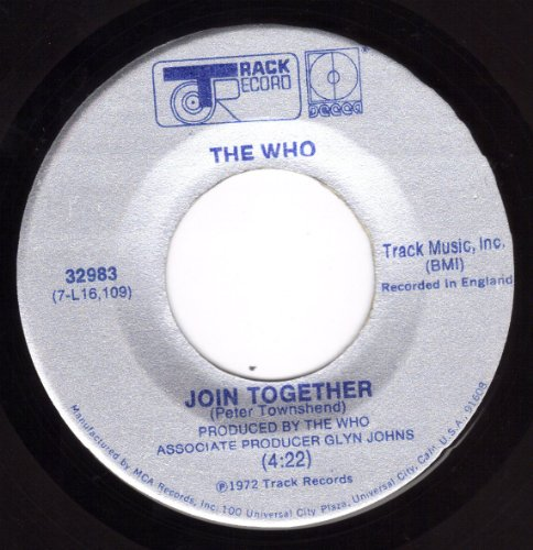 The Who, Join Together, Lyrics & Chords