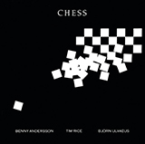 Andersson and Ulvaeus Chess Sheet Music and PDF music score - SKU 104324