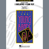 Tim Waters I Believe I Can Fly - Percussion 1 Sheet Music and PDF music score - SKU 272157