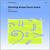 Tom Brown Winning Snare Drum Solos Sheet Music and PDF music score - SKU 124885