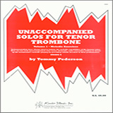 Tommy Pederson Unaccompanied Solos For Tenor Trombone, Volume 1 - Melodic Exercises Sheet Music and PDF music score - SKU 373482