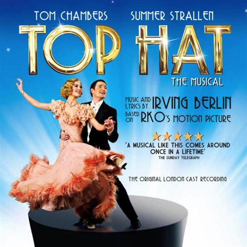 Top Hat Cast, Isn't This A Lovely Day?, Piano, Vocal & Guitar (Right-Hand Melody)