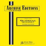 Toshiko Akiyoshi Quadrille, Anyone? - Bass Sheet Music and PDF music score - SKU 381167