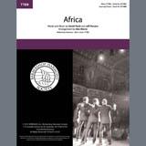 Toto Africa (arr. Alex Morris) Sheet Music and PDF music score - SKU 406783