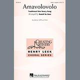 Traditional Zulu Dowry Song Amavolovolo (arr. Rudolf de Beer) Sheet Music and PDF music score - SKU 478565