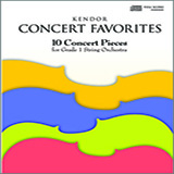 Various Kendor Concert Favorites - 1st Violin Sheet Music and PDF music score - SKU 124770