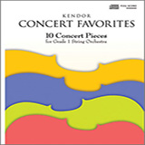 Various Kendor Concert Favorites - 3rd Violin Sheet Music and PDF music score - SKU 124765