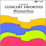 Various Kendor Concert Favorites - Bass Sheet Music and PDF music score - SKU 124771