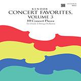 Various Kendor Concert Favorites, Volume 3 - 1st Violin Sheet Music and PDF music score - SKU 455314
