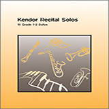 Various Kendor Recital Solos - Clarinet (Piano Accompaniment Book Only) Sheet Music and PDF music score - SKU 124919