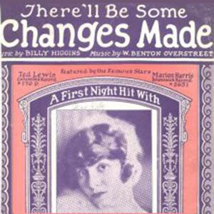W. Benton Overstreet, There'll Be Some Changes Made, Piano