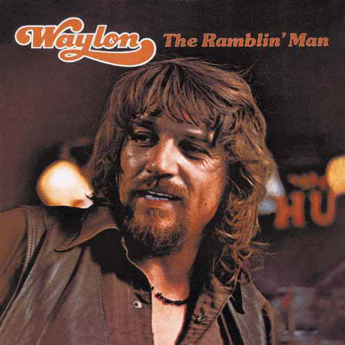 Waylon Jennings, (I'm A) Ramblin' Man, Piano, Vocal & Guitar (Right-Hand Melody)
