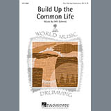 Will Schmid Build Up The Common Life Sheet Music and PDF music score - SKU 98091